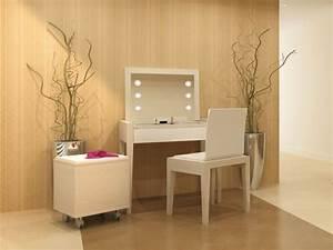 Coiffeuse Moderne Avec Miroir : 10 coiffeuses 10 ambiances ~ Farleysfitness.com Idées de Décoration