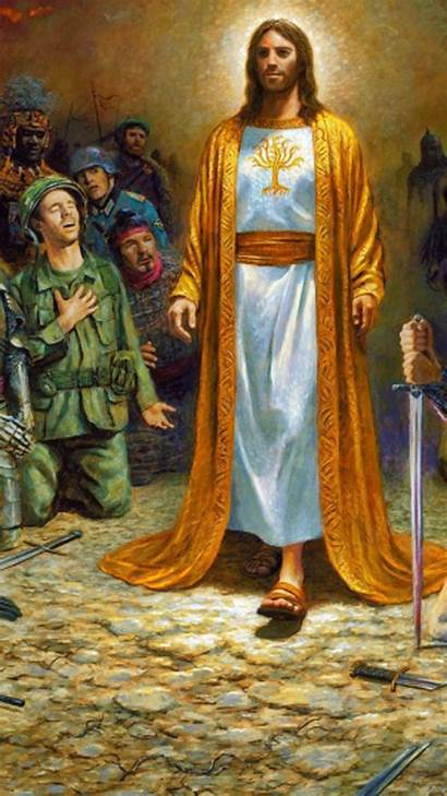 Jesus Christ Wallpapers God Savior Soldiers Mobile