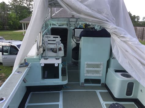 rubberized deck coating boat tuff coat rubberized deck paint the hull boating
