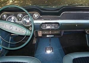 Acapulco Blue 1968 Ford Mustang GT California Special