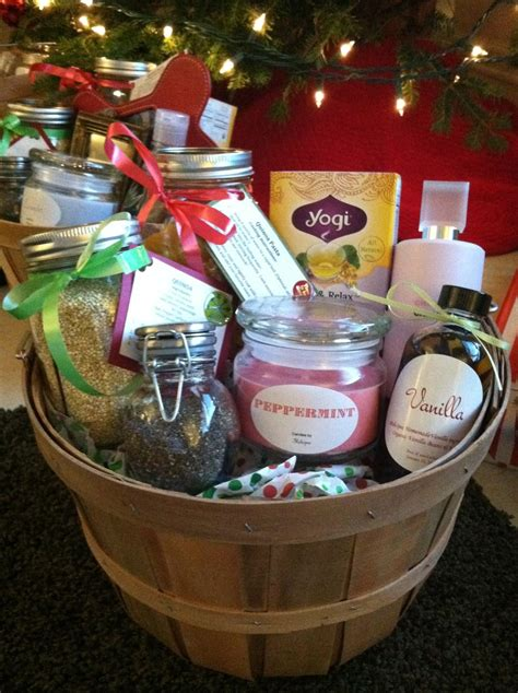 diy christmas gift baskets melicipes healthy homemade gift baskets