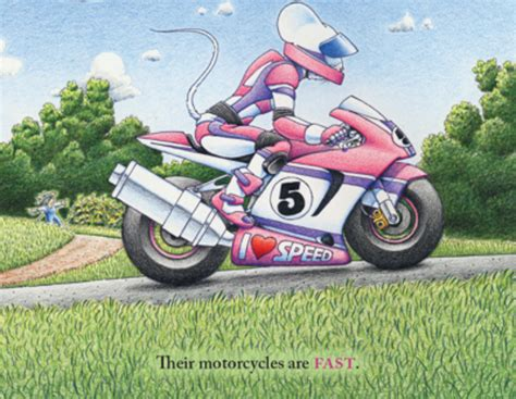 A Children's Book About Motorcycling