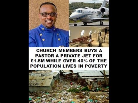 gifts for church members pastor gets 163 1 5m jet as a gift from