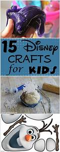 15 disney crafts for house of faucis