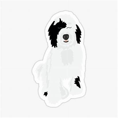 Sheepadoodle Stickers Redbubble Sticker