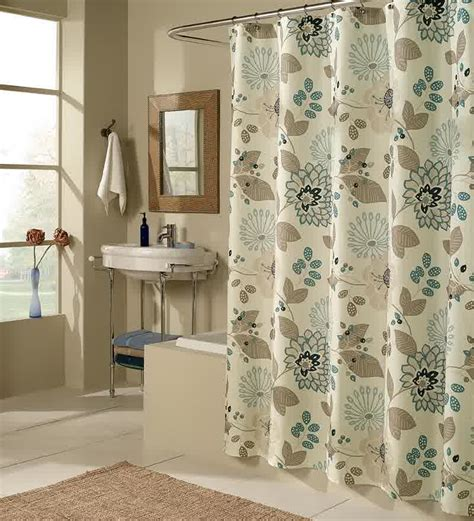 Shower Curtain Drapes by Smart Tips Of Using Cloth Shower Curtains Homesfeed