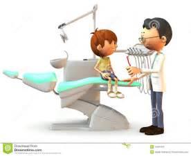 Cartoon Dentist Office
