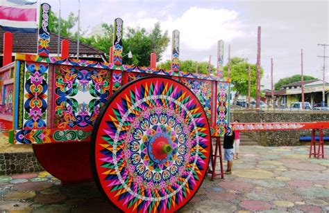 The Oxcarts of Sarchi City in Costa Rica World Travel Guide