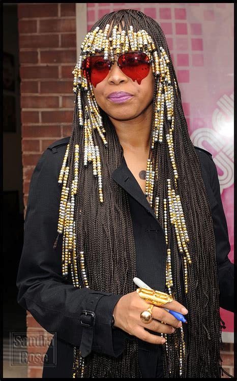 bead styles for hair eryka badu and braids hairstyle