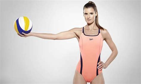olympic volleyball player zara dampney takes   week