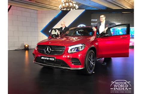 It is available in only one variant and 8 colours. LIVE! Mercedes Benz GLC43 AMG Coupe launched in India at ...