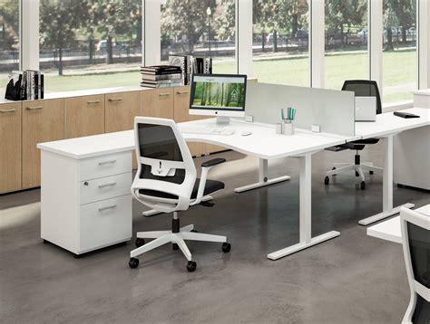 bureau avec retour bureau d angle ideatube avec retour caisson