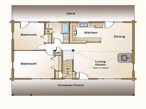 Small Open Concept House Floor Plans Open