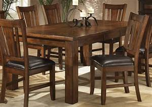 Oak dining room table chairs marceladickcom for How to buy a dining room table