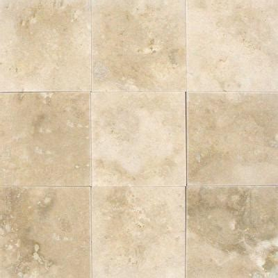 Home Depot Floor Tile by Ms International Ivory 4 In X 4 In Honed Travertine