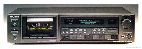 Sony Tck555es  Manual  Stereo Cassette Deck  Hifi Engine