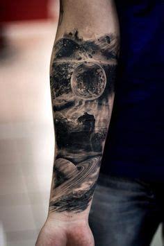 Space Tattoo Ideas Sleeve Tattoos Pinterest