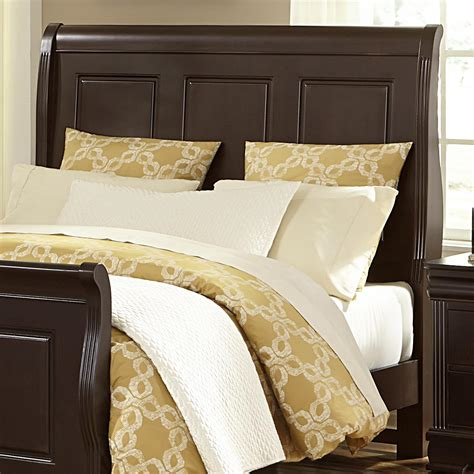 Value City Furniture Headboards King by Vaughan Bassett Market King Sleigh Headboard
