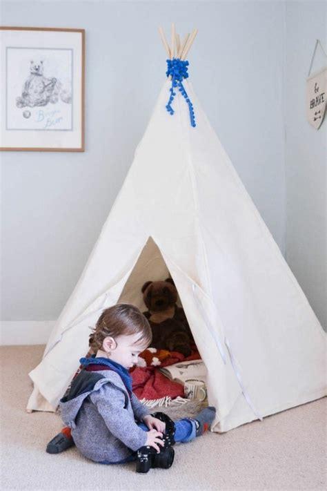 Tipi Kinderzimmer Dekorieren by Tipi Zelt Selber Bauen Und F 252 R Eine