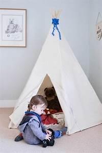 Zelt Kinderzimmer Nähen : tipi zelt selber bauen und f r eine private kinderspielecke sorgen ~ Markanthonyermac.com Haus und Dekorationen