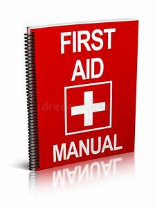 First Aid Manual Stock Photo