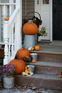 Herbstdeko Fr Den Hauseingang 25 Eindrucksvolle Bastelideen