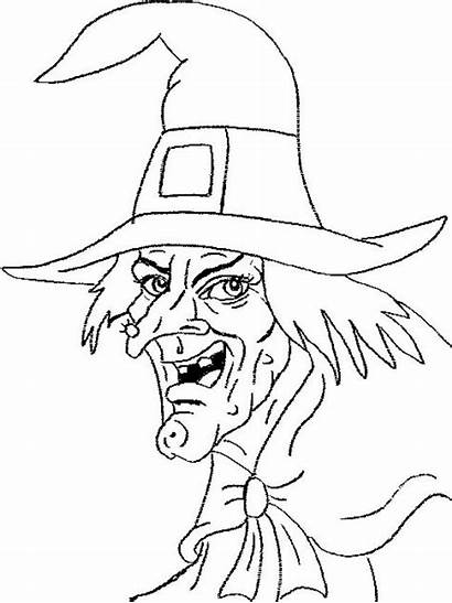 Witch Witches Coloring Pages