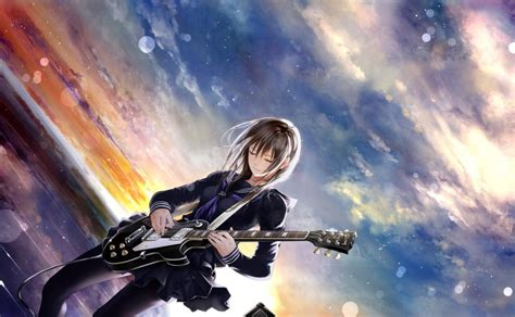 Anime Guitar Wallpaper - anime guitar wallpaper anime wallpaper