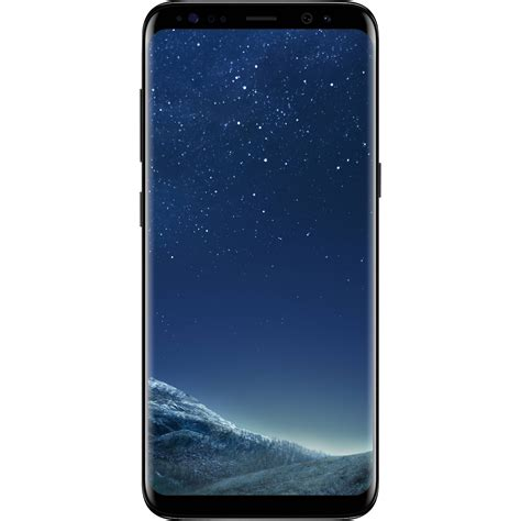 samsung galaxy s8 sm g950u 64gb smartphone sm g950uzkaxaa b h