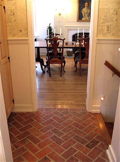 entryways  hallways inglenook brick tiles thin