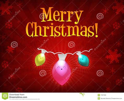 merry christmas lights stock illustration image of green