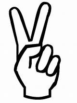 Peace Coloring sketch template