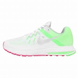 Nike Winflo 2 Women White Pink And Green