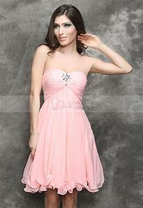 robes courtes de soiree pas cher With robe rose pas cher
