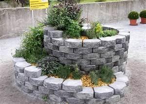 Betonsteine Selber Machen : kr uterspirale aus natur oder betonsteinen bauen ~ Michelbontemps.com Haus und Dekorationen