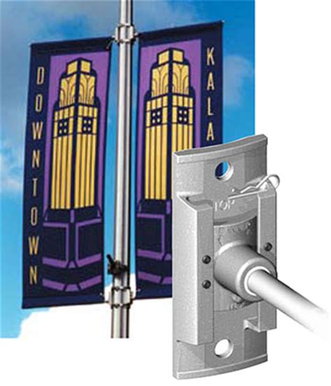 light pole banners light pole banner brackets outdoor displays displays