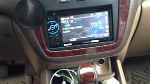 Acura Mdx With Double Din Aftermarket Radio