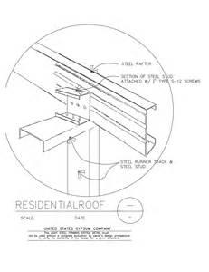 Metal Floor Joist Bridging by Usg Design Studio Light Steel Framing Download Details