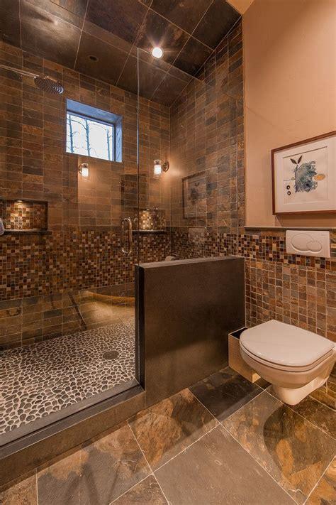 Modern Rustic Bathroom Tile rustic shower tile design in bathroom rustic design