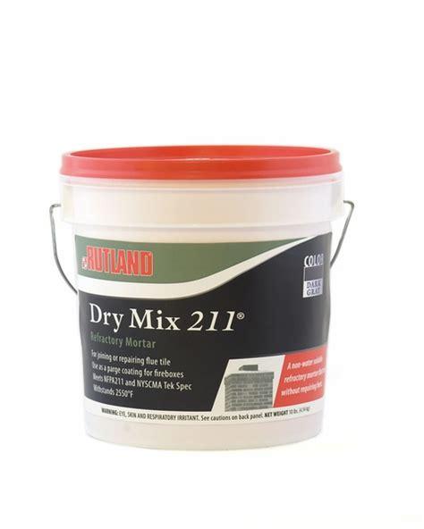 rutland dry refractory mortar mix  pound tub