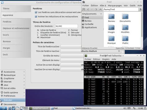 bureau linux les environnements de bureau sous gnu linux informatique