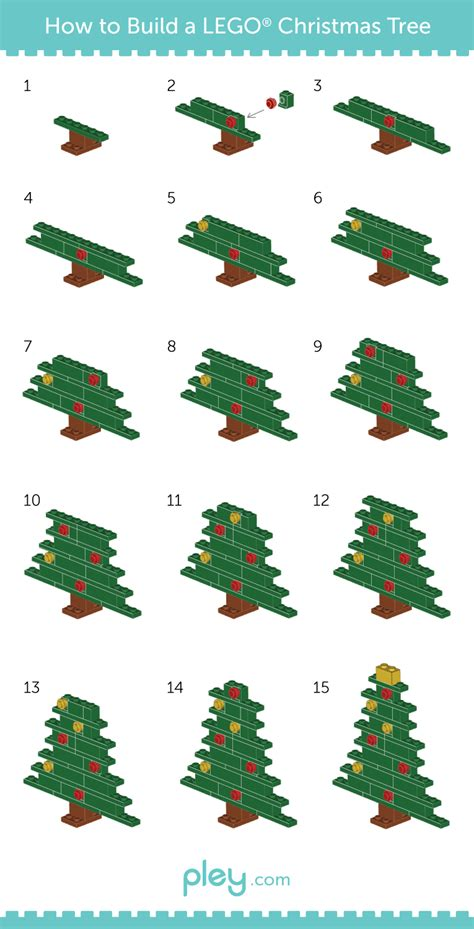 5 simple lego christmas ornaments to make the family brick