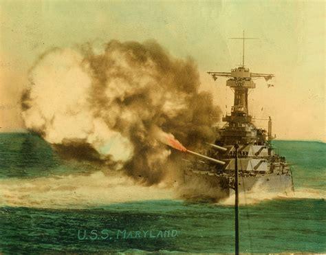 battleship maryland chrome plating maryland