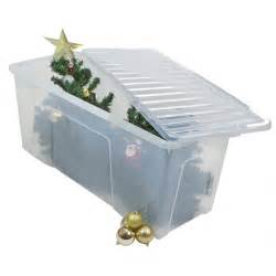 buy extra large plastic storage box with lid for christmas trees