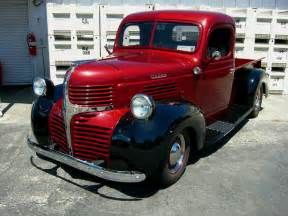 dodge truck tailgate rollin 39 with the times in a 1946 dodge by
