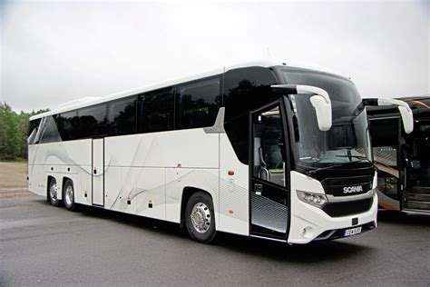 Coach Euro Test  Linkoping 2017  Scania Interlink Hd