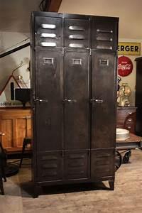 Meuble Industriel Vintage : meuble industriel ancien deco loft meuble industriel vintage de renaud jaylac en 2019 ~ Nature-et-papiers.com Idées de Décoration