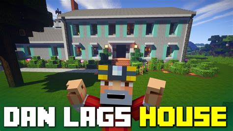 minecraft  lags real life house  youtube