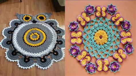 variedades de tapetes el paso a paso tejidos con crochet y ganchillo n 186 01 youtube