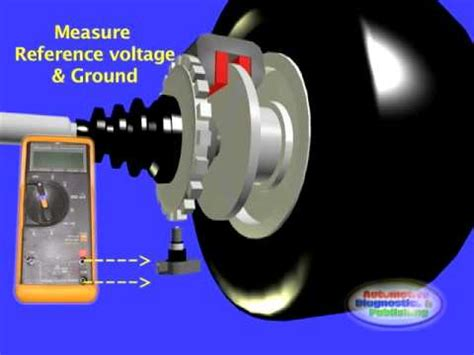 hall effect wss  wheel speed sensor youtube